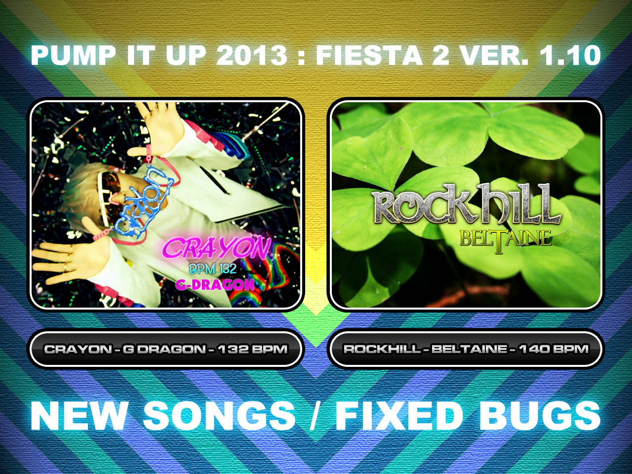 Pump It Up 2013: Fiesta 2 Ver. 1.10