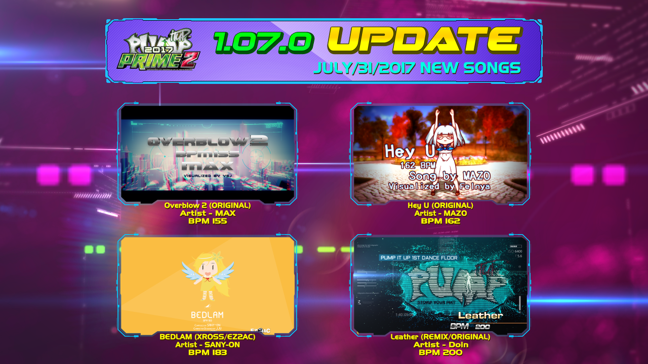 Pump It Up: PRIME 2 Ver. 1.07