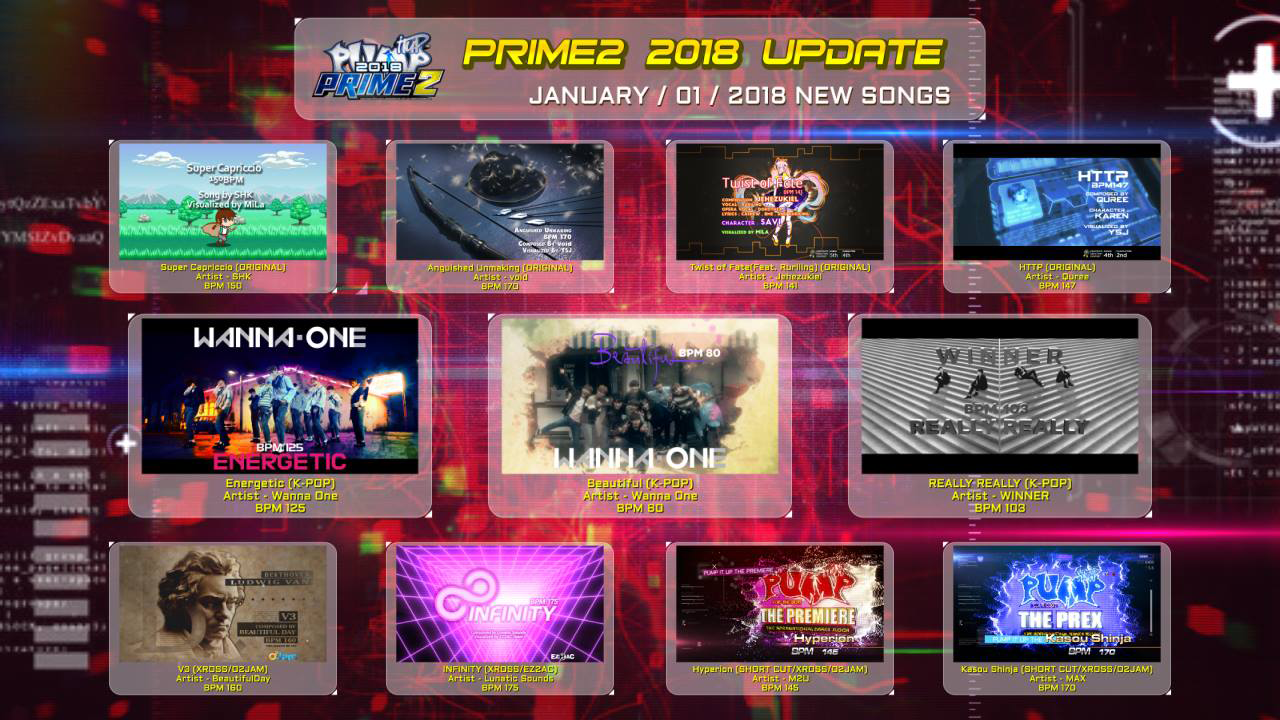 Pump It Up: PRIME 2 Ver. 2.00