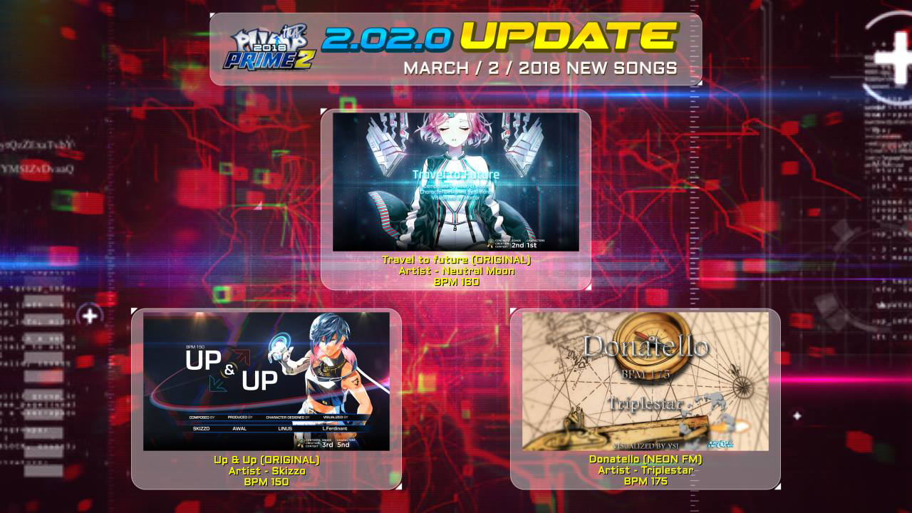 Pump It Up: PRIME Ver. 2.02
