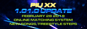 Pump It Up: XX Ver. 1.01 Released!