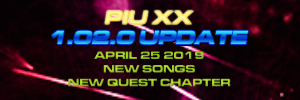 Pump It Up: XX Ver. 1.02 Released!