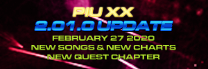 Pump It Up: XX Ver. 2.01 Released!