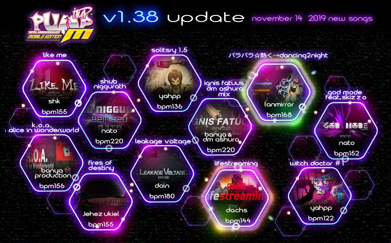 Pump It Up: M Ver. 1.38