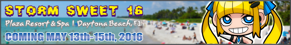 Storm Sweet 16: May 13th-15th, 2016 Plaza Resort & Spa Daytona Beach, FL