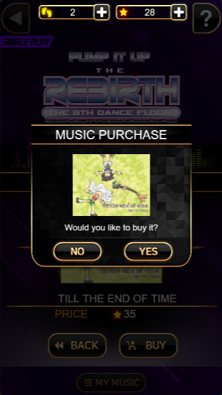 Pump It Up: H5 - Music Purchase