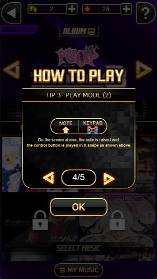 Pump It Up: H5 - How to Play (Mode 2)