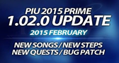 Pump It Up PRIME Update 1.02