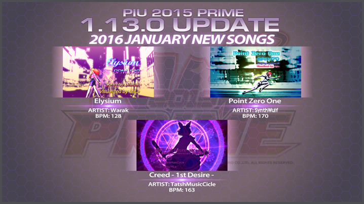 Pump It Up: PRIME ver 1.13